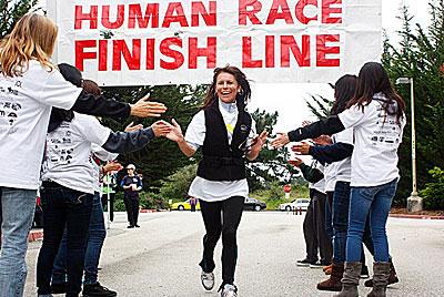 HumanRace_finishline Human Race Walkathon Times Publishing Group Inc tpgonlinedaily.com