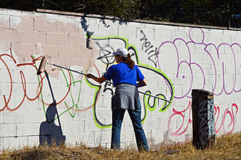 MLKDay_graffiti-removal Martin Luther King Times Publishing Group Inc tpgonlinedaily.com