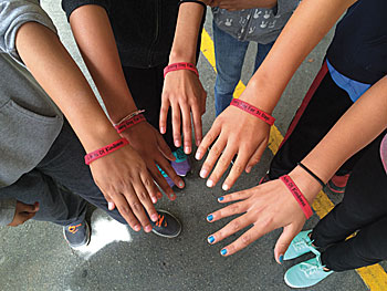 A21504KindnessChallenge_Acts-of-Kindness-wristband Kindness Challenge Times Publishing Group Inc tpgonlinedaily.com