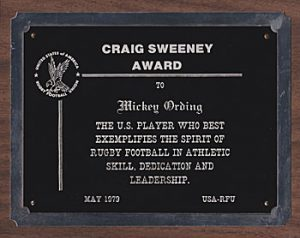 CT1506Rugby_Sweeny-Award Mickey Ording Times Publishing Group Inc tpgonlinedaily.com