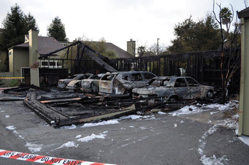 Arsonist Sets Cars On Fire Times Publishing Group Inc