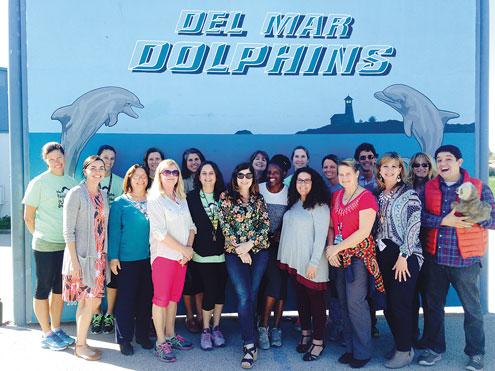LiveOak_Del-Mar-Elementary-School-Teachers CDE Gold Ribbons Times Publishing Group Inc tpgonlinedaily.com