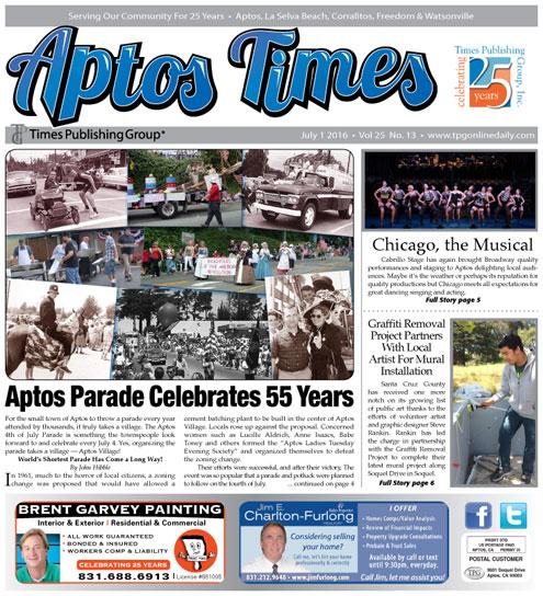Latest Aptos Times E-edition