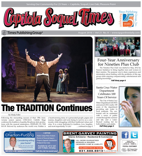 Latest Capitola Soquel Times E-edition