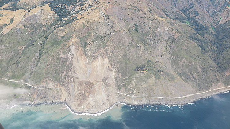 'Unprecedented' landslide buries part of the Pacific Coast Highway in Big Sur