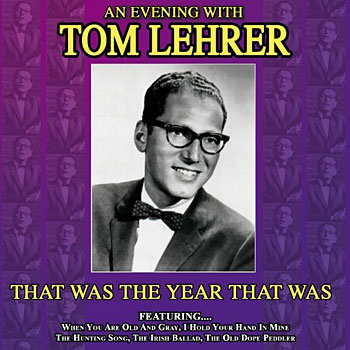 Tom Lehrer Tribute Times Publishing Group Inc tpgonlinedaily.com