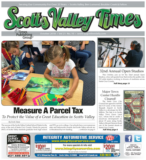 Scotts Valley Times Publishing Group Inc tpgonlinedaily.com