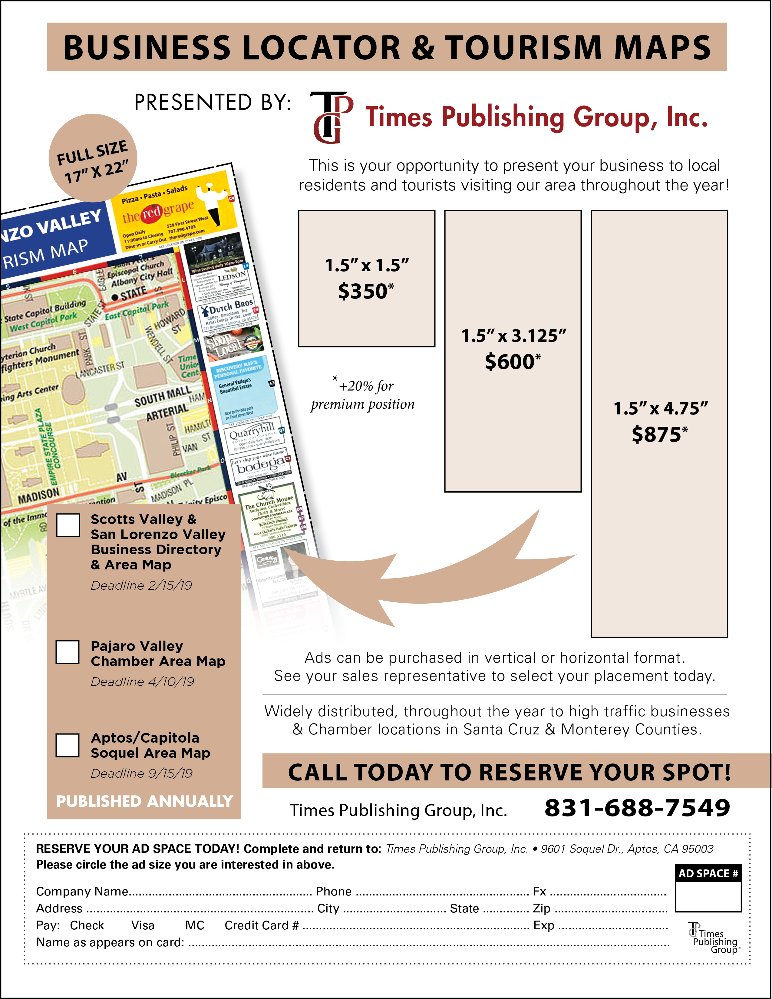 Advertise at TPG — Times Publishing Group, Inc